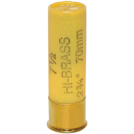 20 Gauge 2-3/4 1 Oz Game-Shok Heavy Field Hi Brass #7.5 Shot 25 Rounds