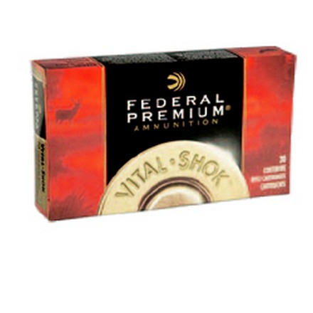 257 Roberts +P 120 Grain Vital-Shok Nosler Partition 20 Rounds