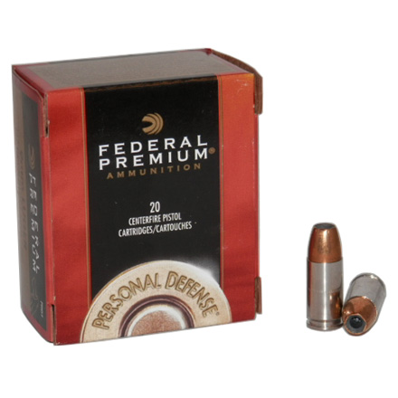 9mm Luger 147 Grain Hydra-Shok Jacketed Hollow Point 20 Rounds