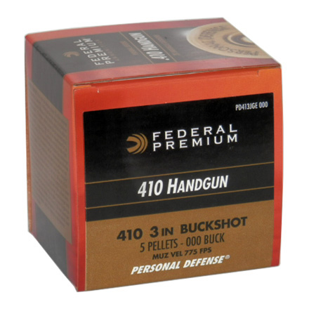 "410 Gauge 3"" #000 Buck Personal Defense 20 Rounds"