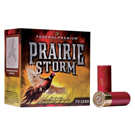 "12 Gauge 2-3/4"" 1-1/4oz Prairie Storm #5 Shot 25 Rounds"