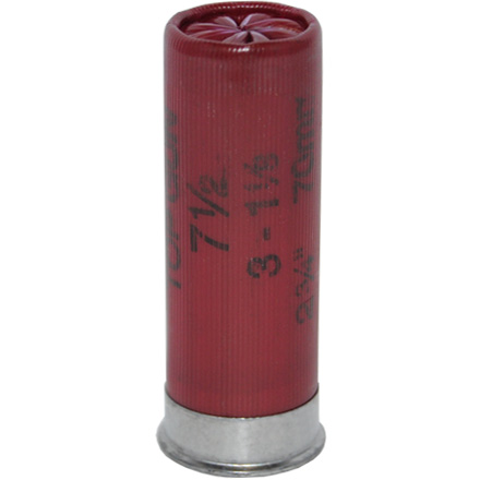 "12 Gauge 2-3/4"" 1-1/8 Oz 3 Dram Top Gun Target #7.5 Shot 25 Rounds"