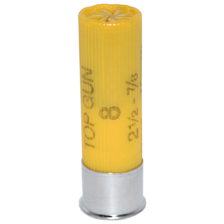 "20 Gauge 2-3/4"" 7/8 Oz Dram Top Gun Target #8 Shot 25 Rounds"