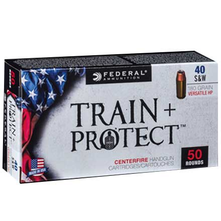 40 S&W 180 Grain Train + Protect VHP 50 Rounds