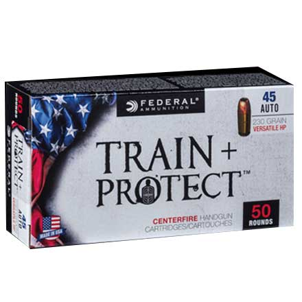 45 Auto 230 Grain Train + Protect VHP 50 Rounds