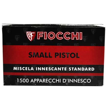 Fiocchi Small Pistol Primers 1500 Count  10 Sleeves of 150
