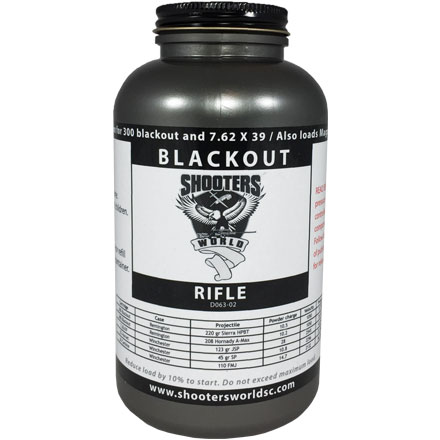 Shooters World Blackout  Smokeless Powder 1 Lb By Lovex
