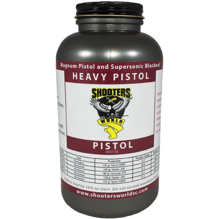 Shooters World Heavy Pistol Smokeless Powder 1 Lb By Lovex