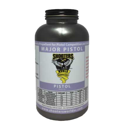 Shooters World Major Pistol Smokeless Powder 1 Lb By Lovex