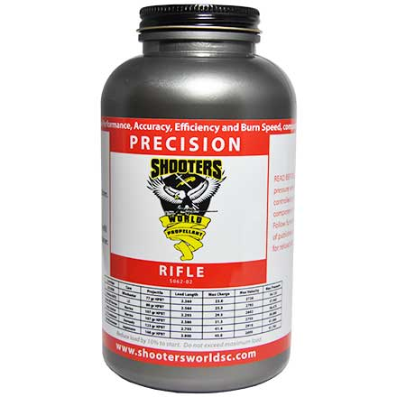 Shooters World Precision Rifle Extruded Smokeless Powder 1 Lb By Lovex