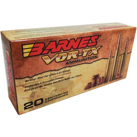 7mm Remington Mag 160 Grain TSX BT VOR TX 20 Rounds By Barnes