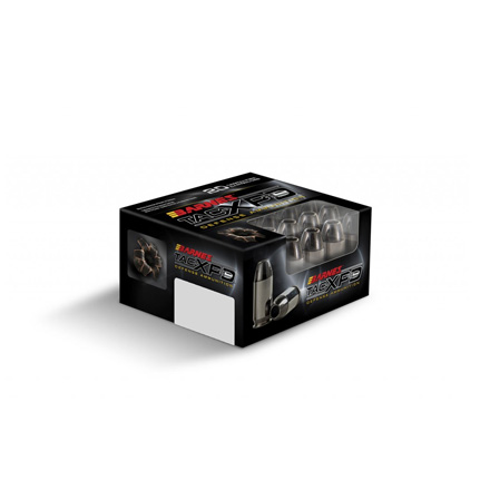 Barnes TAC-XPD 380 Auto Defense Ammo 80 Grain 20 Rounds