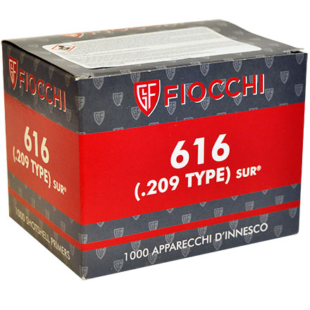 Fiocchi 209 Shotshell  Primers 1000 Count