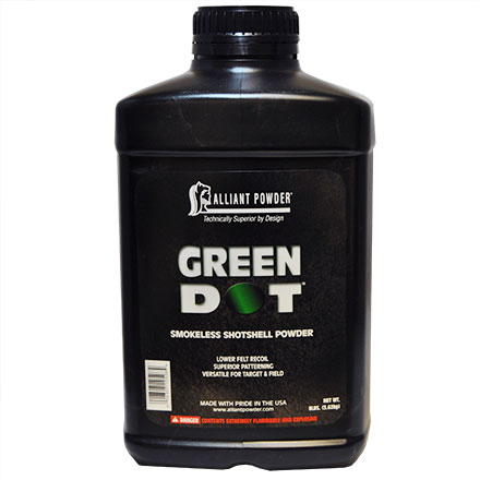 Alliant Green Dot Smokeless Shotshell Powder 8 Lb