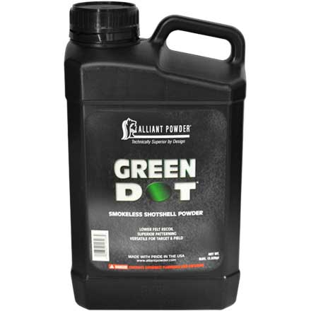 Alliant Green Dot Smokeless Shotshell Powder 4 Lb