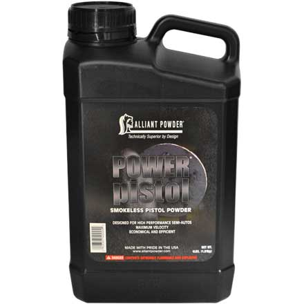 Alliant Power Pistol Smokeless Powder 4 Lb