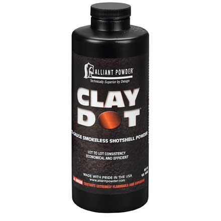 Alliant Clay Dot Smokeless Shotshell Powder 1 Lb