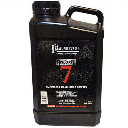 Alliant Reloder 7 Smokeless Rifle Powder 5 Lb
