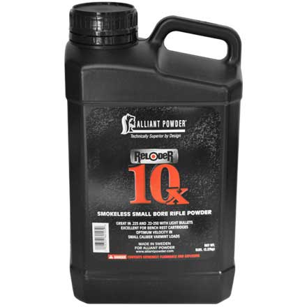 Alliant Reloder 10X Smokeless Small Rifle Powder 5 Lb