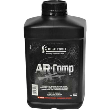 Alliant AR Comp Smokeless Rifle Powder 8 Lb