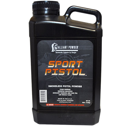 Alliant Sport Pistol Smokeless Powder 4 Lb