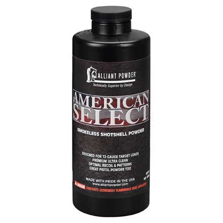 Alliant American Select Smokeless Powder 1 Lb