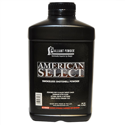 Alliant American Select Smokeless Powder 8 Lb