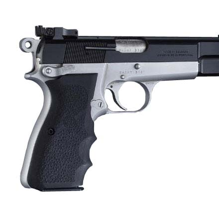 Browning Hi Power 9mm Wrap Around Finger Groove Grips By Hogue