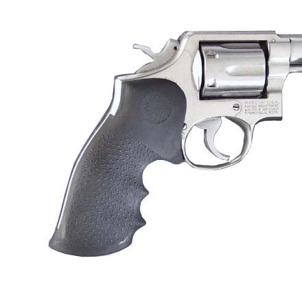 S&W K&L Frame Square Butt Revolver Grip With Finger Grooves