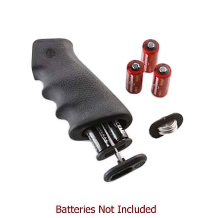 AR-15/M-16 Black Rubber Grip With Storage Kit