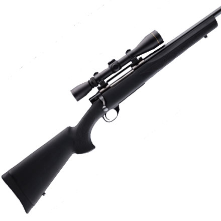 Weatherby/Howa 1500 Long Act Standard Barrel Pillar Bed Stock Black Finish