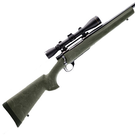 Weatherby/Howa 1500 Long Act Standard Barrel Full Length Bed Block Ghillie Green Finish