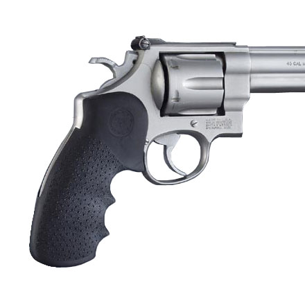 S&W N Frame Round Butt Mono Grips With Finger Grooves by Hogue