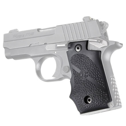 Sig Sauer P238 Rubber Grip With Finger Grooves (Black)