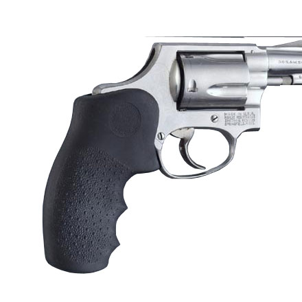"S&W ""J"" Frame Round Butt Mono Grips With Finger Grooves"