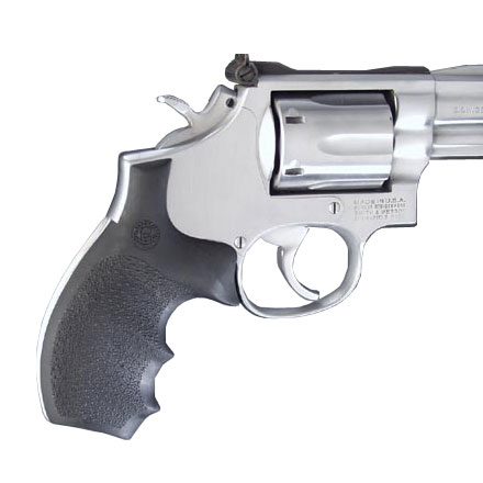 "S&W ""K & L"" Frame Round Butt Bantam Grip With Finger Grooves"