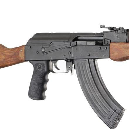 AK-47 AK-74 OM Rubber Grip With Finger Grooves Black