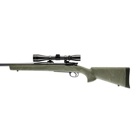 Mauser 98 Military and Sporter Actions Pillar Bed Stock Ghillie Green Finish