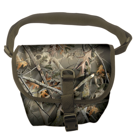 Image for Deluxe 2-Pocket Quiet Cloth Possibles Bag In Reaper Buck Camo