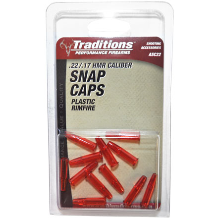 .22 CALIBER RIMFIRE RIFLE SNAP CAPS ASC22 TRADITIONS PERFORMANCE FIREARMS