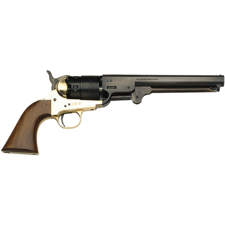 ".44 Caliber 7.375"" Blued 1851 Navy / Walnut / Brass"