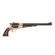.44 Caliber 1858 Bison Revolver With Walnut Grip and Brass Frame