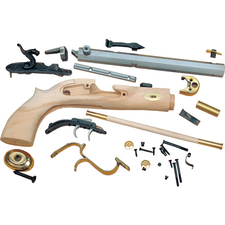 "Image for .50 Caliber 10"" Trapper Pistol Kit / Select Raw Hardwood"