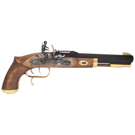 .50 Caliber Trapper Pistol Flintlock Select Hardwood Grip