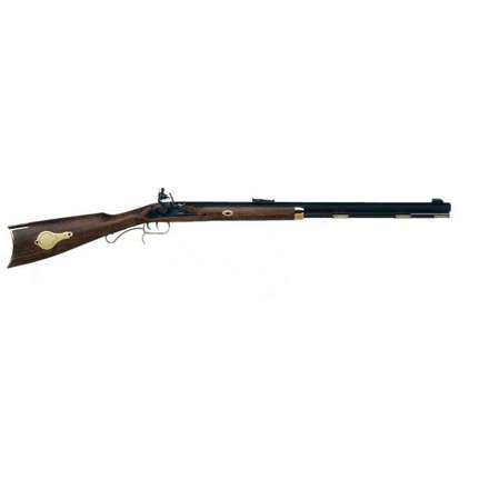 ".50 Caliber Hawken Woodsman Flintlock 28"" Blued Barrel Hardwood Stock"