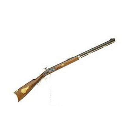 ".50 Caliber Hawken Woodsman Percussion 28"" Blued Barrel Hardwood Stock"
