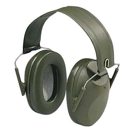 Image for Shotgunner Folding Hearing Protector Green Domes