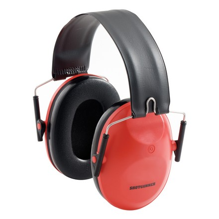 Image for Shotgunner Folding Hearing Protector Red Domes