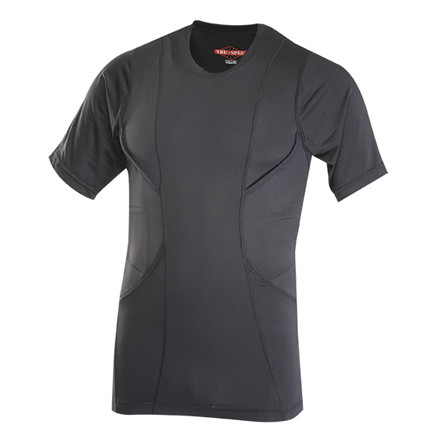 Men's 24-7 Series Concealed Holster Shirt Black (XS)