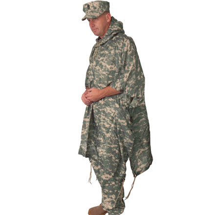 Poncho, GI Spec Lightweight Rip-Stop -US Army Digital Camo 56